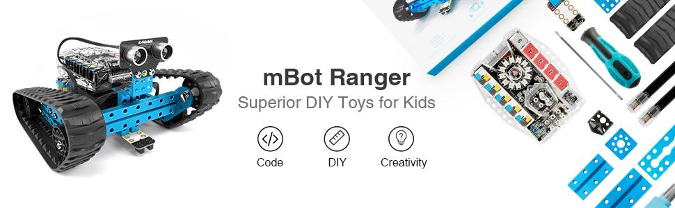 Makeblock mBot Ranger 3-in-1 educational robot kit for Age 10+